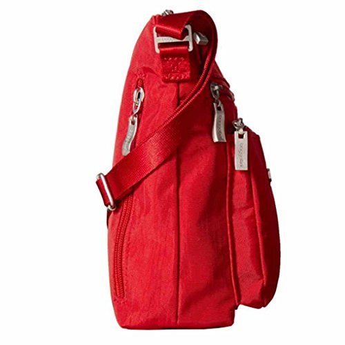Purce Pocket Charm RFID Apple Crossbody Bag Wristlet Baggallini Key Foab Travel q85n6A5WP