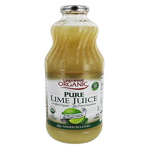 Lakewood, Juice Pure Lime Organic, 32 Fl Oz