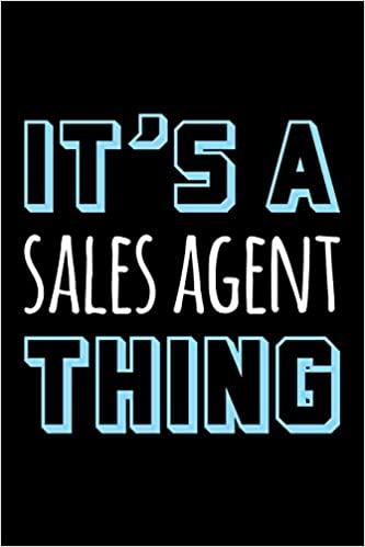 Buy It's a Sales Agent Thing: Blank Lined Office Humor
