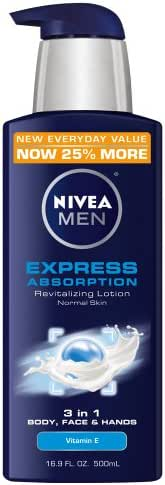 Body Lotions: Nivea Men Express Absorption Lotion
