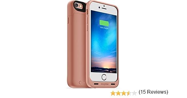 Mophie Juice Pack - Carcasa para Apple iPhone 6/6s (con batería de 1840 mAh), Color Rosa: Amazon.es: Electrónica