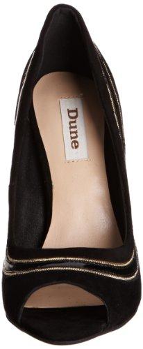Dune Chrissy Di - zapatos de tacón de material sintético mujer negro - negro