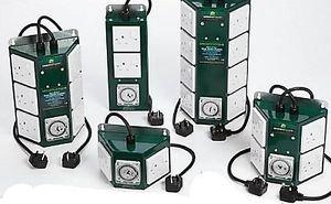 Greenpower Lighting Relay Timer Contactor 2/4/6/8 Way 26 Amp Pro Hydroponics 4 Way - 4000W