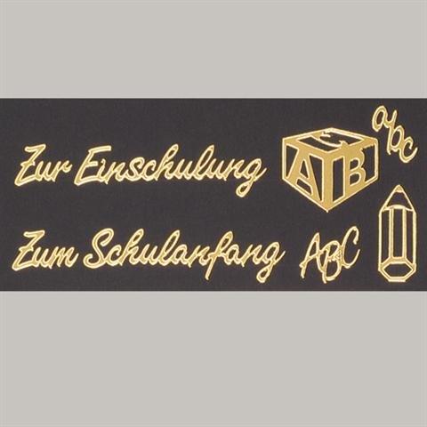 EFCO - Stickerbogen Zur Einschulung / Schulanfang 10 x 23 cm gold