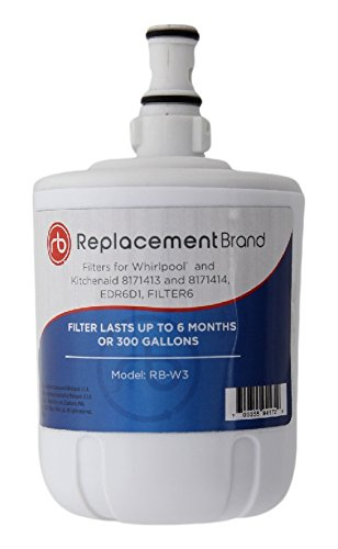 Whirlpool 8171413 EDR8D1 8171414 46-9002 Comparable Refrigerator Water Filter