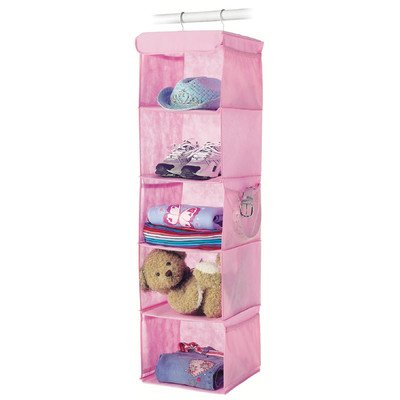 Whitmor  Fashion Polypro Color Organizer Collection Hanging Accessory Shelves, Pink