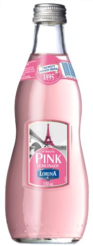 Lorina Sparkling Pink Lemonade , 11.1-Ounce (Pack of 12)