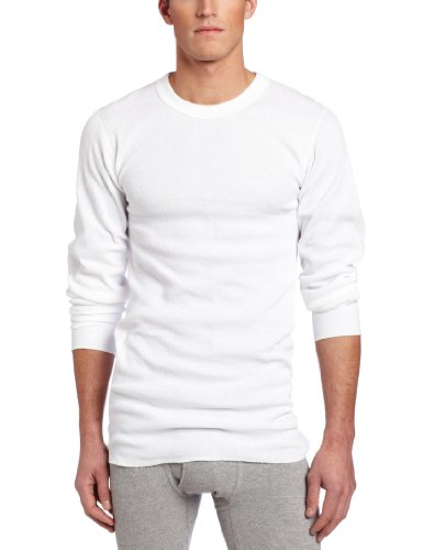 Rock Face Men's Tall 7 oz Lightweight Knit Thermal Shirt, White, (Lightweight Thermal Shirt)
