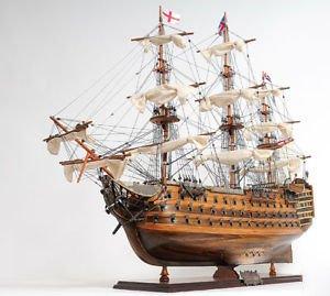 - Victory Lord Flagship Wood Tall Ship Model 37