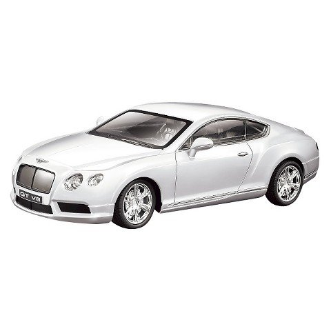 Braha Bentley GT V8 1:24 R/C Car White (Bentley Model Car compare prices)