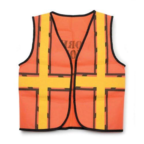 ToySource Dress Up Vest - Construction Worker - 16 X 20 Costume Vest