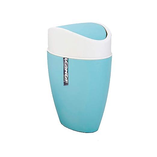 Cubo de Basura 6L con Tapas Plásticas Creativo Cocina Baño ...