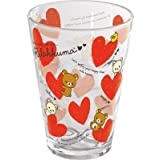 San-X Rilakkuma Acrylic Drink Cup Red Heart (KY28501)