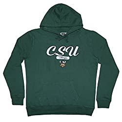 NCAA Youth CLEVELAND STATE VIKINGS Athletic Pullover Hoodie / Sweatshirt M Green