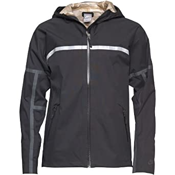 c6275414e62d Nike Mens Libero Storm-Fit Running Jacket Black - S Fit Chest 34-36  (88-96cm)  Amazon.co.uk  Clothing