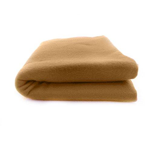 Warm Cozy Solid Color Fleece Lightweight Blanket 36