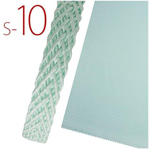 夏用正絹絽帯〆・帯揚げセット選べる17色カラバリ絽帯締め夏の着物浴衣に最適絹100%(S-10)