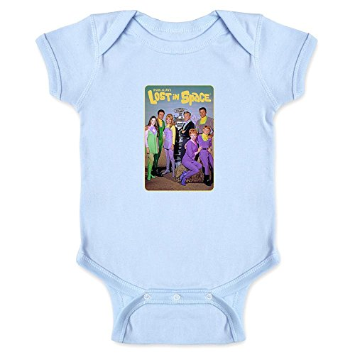 Pop Threads Lost in Space Cast Photo Light Blue 12M Infant (Lost Cast Photo)