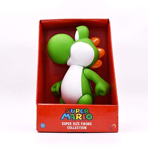 PampasSK Action & Toy Figures - Styles Anime Figura Super Mario Bros Mario Luigi Yoshi Toad Princess Peach PVC Action Figure Doll Collectible Model Baby Toy 1 PCs -