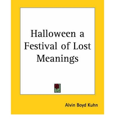 [ [ [ Halloween a Festival of Lost
