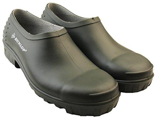 Dunlop Herren Gummi Clog Gummistiefel Grün