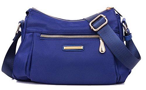 Achats CCAFBO181359 à bandoulière VogueZone009 Bleu à Violet Sacs Femme bandoulière Cartable Sacs Nylon 6wwgYvZ