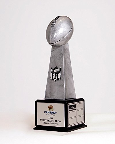 The Ultimate Fantasy Football League Trophy; 19