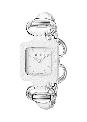 Gucci Jewelry Sets (Gucci 1921 Series White Leather Bangle Ladies Watch YA130404)