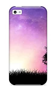 New Style Eric J Green Hard Case Cover For Iphone 5c- Nature