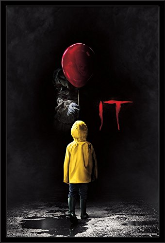 "Trends International IT Movie Teaser Mounted Poster 24.25"" x"