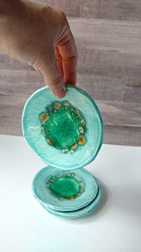 geode-blue-ring-dish-crackle-pattern-catch-all-soap-dish-small-plate-trinket-dish-giftteal-melted-gl