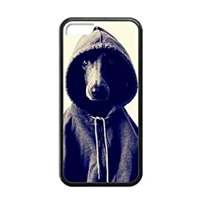 meilz aiaiBlack and White Photograph Animal Series Fashion Dog Design Hot Custom Luxury Cover Case For ipod touch 4(Black) with Best Silicon Rubber ALL MY DREAMSmeilz aiai