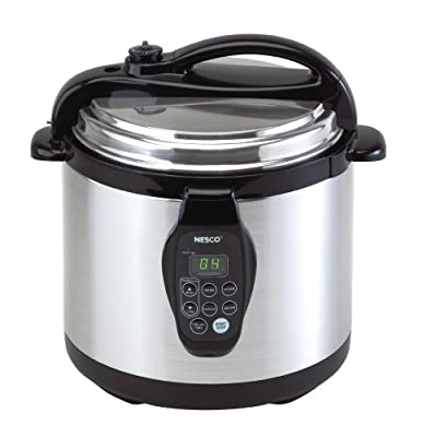 Nesco PC6-25P 6-Quart Electric Programmable Pressure Cooker, Stainless Steel from Nesco