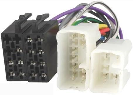 Systafex Autoradio Adapter Iso Radioadapter Stecker Elektronik