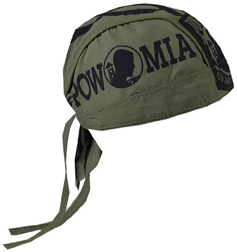 Hot Leathers HWH1021 POW Head Wrap (Military (Military Headwraps)