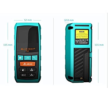 MileseeyS6 Model 40 Meters Distance Handheld Digital Laser Rangefinder With Cool Design And Multi-function For Conscientious Man