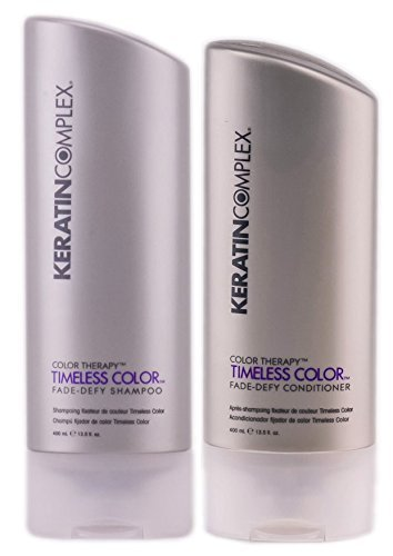 Keratin Complex Color Therapy Timeless Fade Defy Duo Shampoo and Conditioner, 13.5 Ounce ()