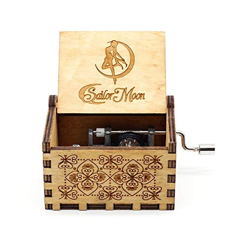 VDV Music Box - Creative Antiques, Carved Wooden Games, Musical Box, Beauty and Wild Animals, New Year Gifts, Birthday Gifts. -