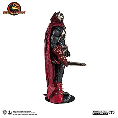 McFarlane Toys Mortal Kombat Spawn Action Figure: Toys & Games