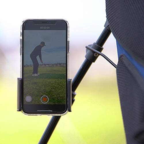 Cell Phone Swing Recording Clip | Golf Phone Holder Clip | Golf Gift | PGA Pro Swing Analysis Available (Best Camera For Slow Motion Golf Swing)