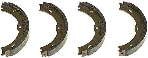 Anzahl 4 Brembo S50523 Bremsbacken f/ür Handbremsen