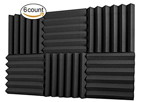 A2S Protection 6 Pack Acoustic Foam Panels 2
