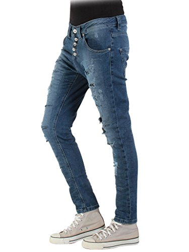 taille 771B0970X Carrera tissu pour taille Fonc loose Bleu extensible 771 Jeans 706 normale Jeans Lavage femme tFvqv4n