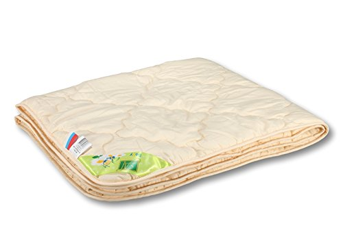 Smart And Cozy SONATA 100% Organic CRIB/BABY Comforter with Natural Cotton Fiber Filler, Quilted (CRIB/BABY 43''x55'') -