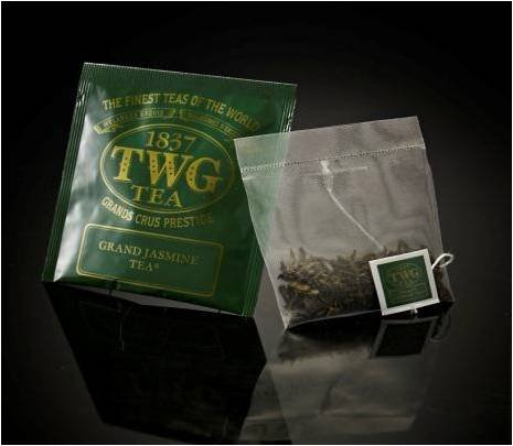 TWG Singapore - Luxury Teas - Grand Jasmine Tea - BULK PACK - 100 silk teabags by TWG Singapore - Luxury Teas - Grand Jasmine Tea