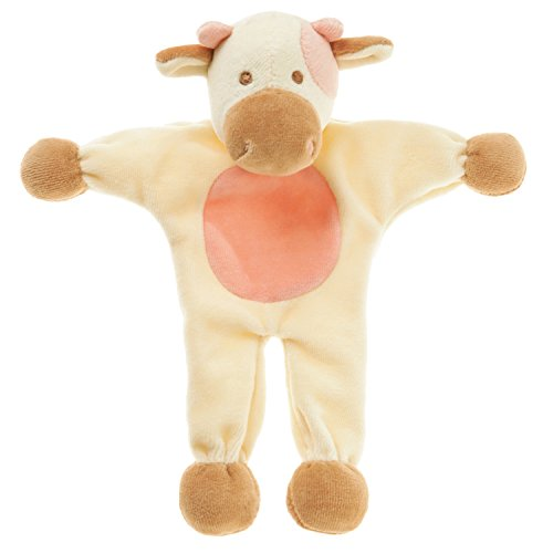 Cheap Simply Fido Millie Cow Stuffless Toy, 9″, White