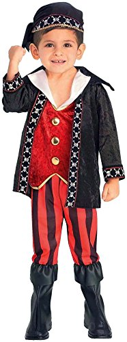 Forum Novelties Lil Buccaneer Pirate Child Costume, Small ()