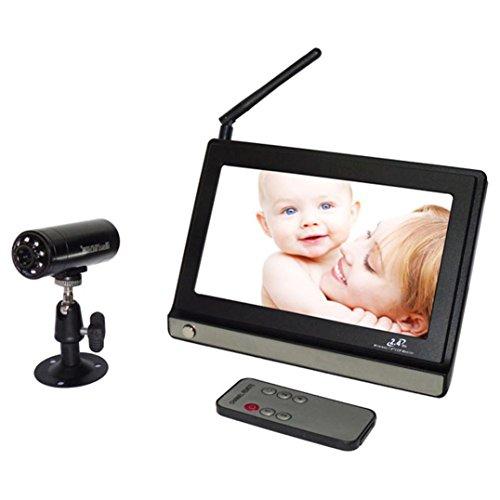 Baby Monitor - FEITONG 2.4G Wireless Digital Baby Monitor 7inch Lcd Receiveer + Night Vision Camera by FEITONG