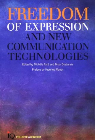 Freedom of Expression and New Information Technologies ebook
