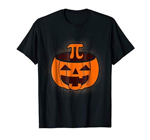 Pumpkin Pi Halloween Math Joke T-Shirt ()